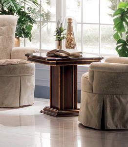 Modigliani mesa lateral cuadrada, Mesa auxiliar con tapa cuadrada