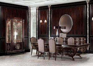 NM2, Un comedor clásico en el estilo de lujo, sala de estar