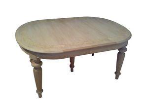 Richardson, Mesa del comedor tradicional, oval, talladas a mano
