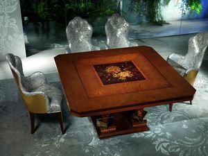 TA50 Class mesa, Mesa de madera con adornos preciosos, por Luxury Hotel