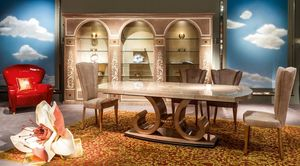 TA58 mesa, Mesa extensible para los comedores clásicos