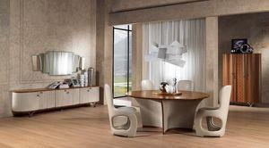 TA60 Desyo mesa, Mesa redonda adecuada para clásico comedor