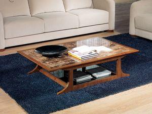 TL52 Desyo mesa pequeña, Mesas de centro rectangular adecuados para clásicos salones