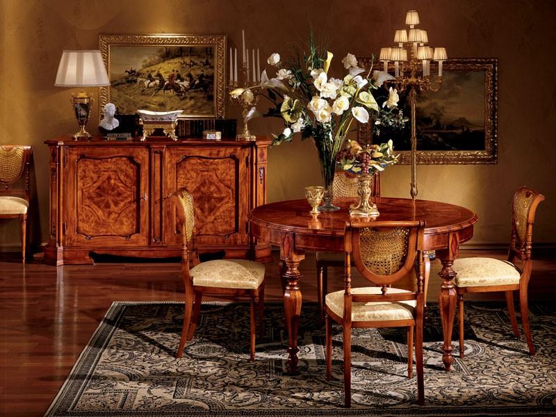 Venezia table 782, Mesa redonda de comedor