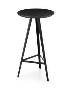 ART. 0121-MET-CONTRACT AKY, Mesa alta con tapa de fresno