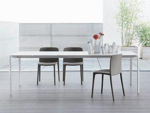 LIGHT, Tabla de mínimos, extensible, mesa para sala de estar