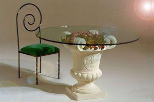 Samas, Mesa de comedor con base de florero