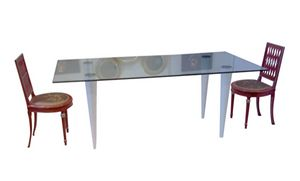XC-06, Mesa con sobre de cristal