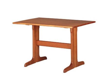 603, Mesa rectangular rústico, de madera de haya, para la cocina