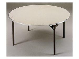 Slimfold S.3, Mesa plegable con tapa de madera, fácilmente transportable