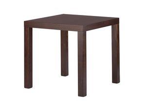 TM02, Mesa cuadrada moderna en madera de haya, para los restaurantes