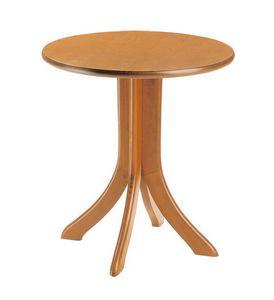 TV04, Mesa en madera de haya, de estilo rústico, de chalets