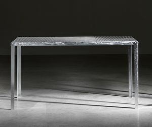 TA52, Mesa rectangular en acero galvanizado