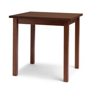 Trattoria, Mesa lineal en madera de haya para el restaurante