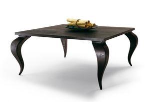 2120 Duong, Mesa de madera maciza de caoba