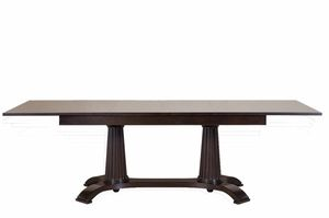 Heritage mesa, Mesa de comedor extensible, de madera