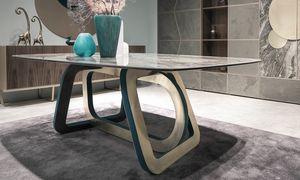 Loop Art. 302-RV2G, Mesa con sobre de gres porcel�nico