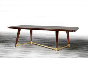 W06DT, Elegante mesa de madera para comedor