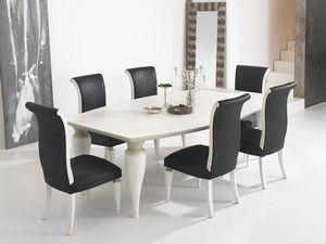 ZARA table 8360T, Mesa con la parte superior del barril y las piernas bien formadas