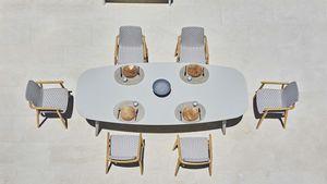 Ellisse mesa, Mesa de comedor al aire libre
