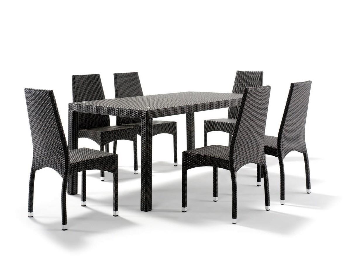 FT 2030 / 160, Mesa de aluminio trenzado, con tapa de cristal
