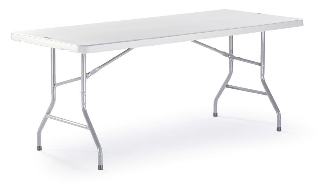 FT PLANET RECT, Mesa rectangular plegable al aire libre
