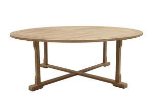 Macao 0439, Enorme mesa exterior en madera de teca.