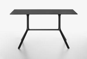 Miura mod. 9586-01 / 9587-01, Mesa rectangular con tapa abatible
