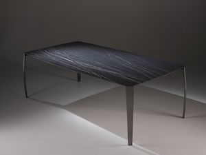Spider table, Mesa de comedor con tapa de cerámica