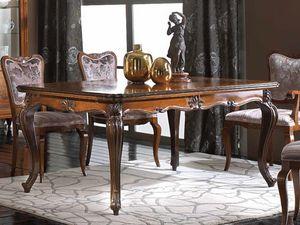 Alexander mesa, Mesa extensible en estilo clásico