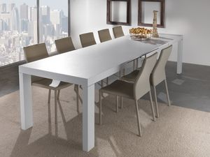Art. 627 Wind, Mesa extensible con múltiples extensiones, disponible en varios acabados