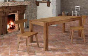 Art. 657, Mesa de madera, con tapa extensible.