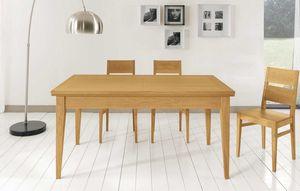 Art. 665, Mesa con diseño contemporáneo, con extensiones.