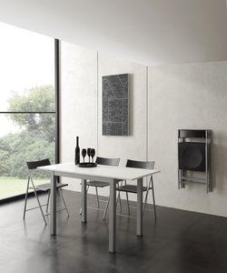 Art. 665 Micro Table, Mesa extensible de pequeñas dimensiones