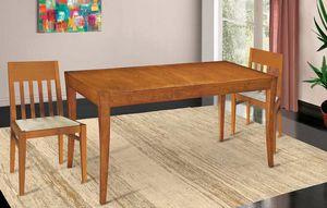 Art. 670, Mesa extensible en madera