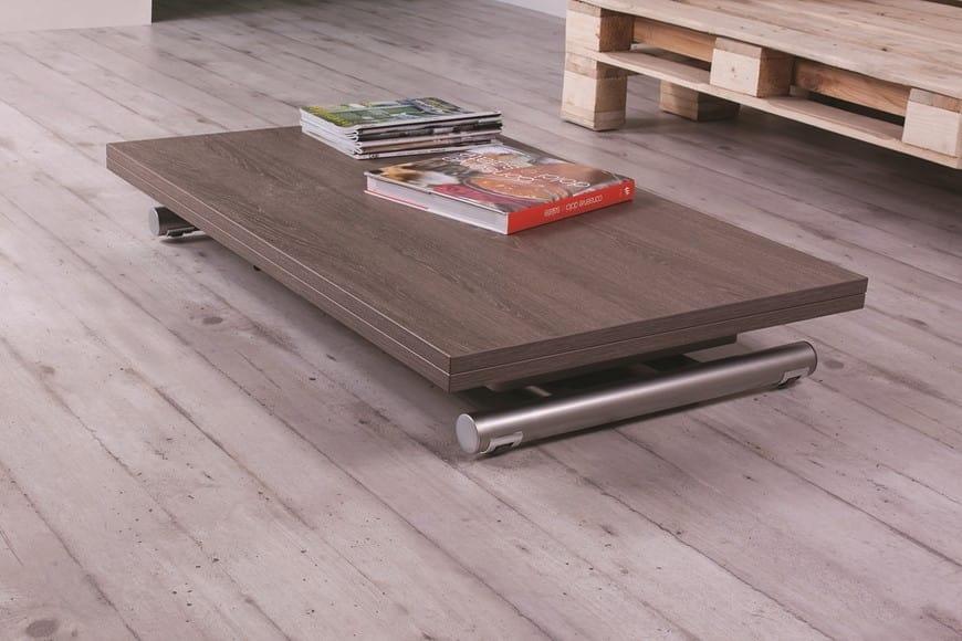 Mesa de centro convertible en mesa de comedor | IDFdesign
