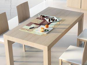 Complementos Mesa 05, Mesa de madera extensible, para el uso del contrato