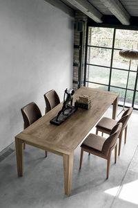 LEVANTE TA512, Mesa extensible de madera