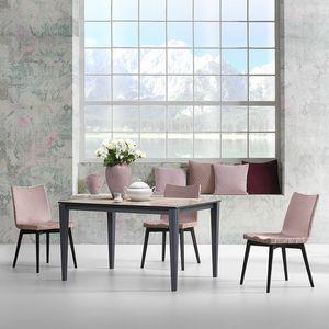 Paul, Mesa con formas refinadas y modernas