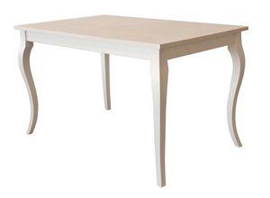 TA02, Mesa de madera extensible, para entornos de contrato