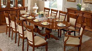 Treviso mesa ovalada, Mesa ovalada, para comedor clásico