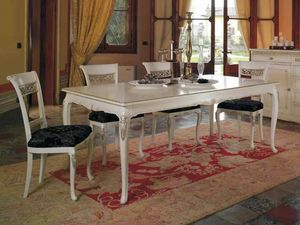 Villa mesa, Mesa clásica, con preciosas tallas