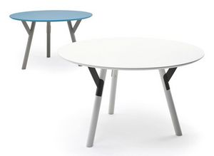 Link mesa, Mesa extensible de acero, diferentes acabados, para al aire libre