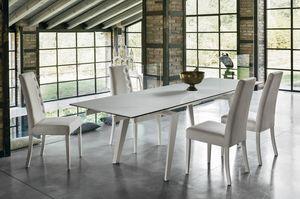 LIBECCIO 180 TA1A5, Elegante mesa extensible para sala de estar
