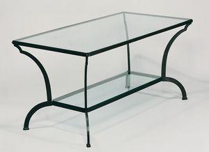 GF4013TA, Mesa al aire libre en hierro y vidrio