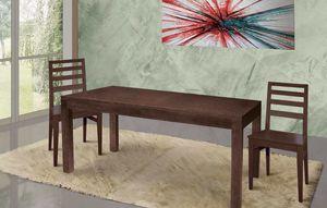 Art. 669, Mesa de madera para sala de estar moderna y refinada.