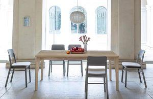 Fold, Mesa de madera maciza de fresno