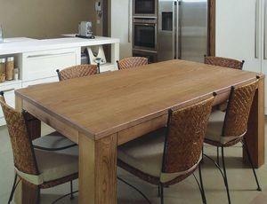 Gaia 114, Mesa de madera maciza de fresno