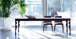 Giunione, Mesa extensible en madera de roble