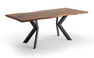Joker, Mesa con tapa en madera contrachapada